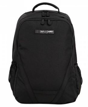 Balo Laptop Simple Carry B2B02 BLACK