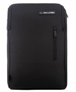 Balo laptop chính hãng Simple Carry đen K3 Black