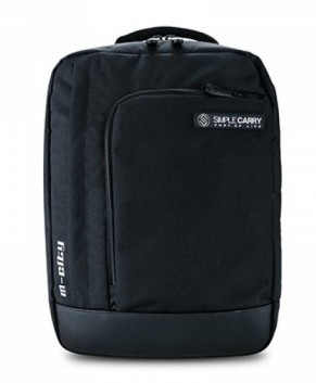 Balo laptop Simple Carry M-City Black