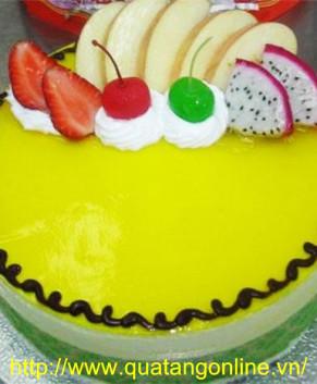 Bánh kem mứt trái cây BK002 ngọt ngào hương sắc