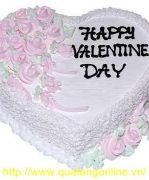 Bánh kem Valentine BK018