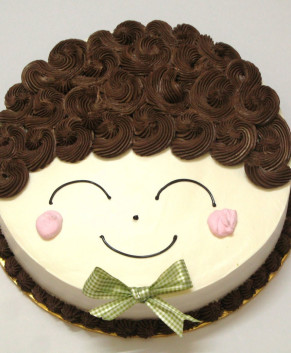 Bánh kem bánh sinh nhật hình cậu bé BK033