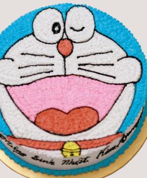 Bánh kem bánh sinh nhật hình Doremon BK027