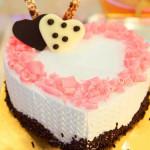 Bánh kem bánh sinh nhật hình trái tim BK028