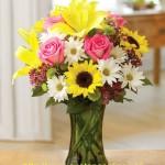 Bình hoa tươi HT011