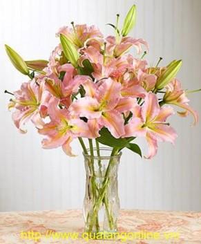 Bình hoa Ly HT015