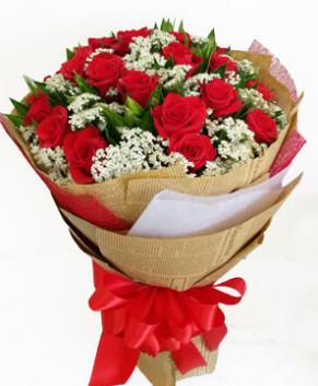 Bó hoa hồng đỏ yêu thương nồng nàn HT160