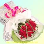 Bó hoa hồng đỏ HT021