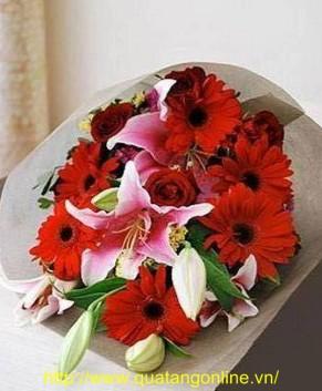Bó hoa tươi HT023
