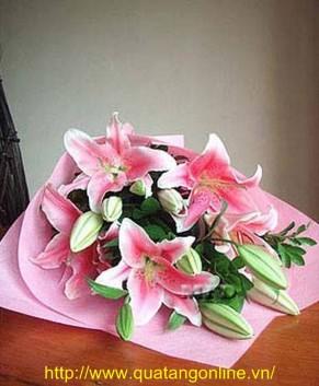 Bó hoa Ly HT024
