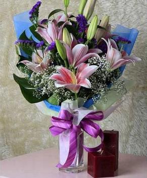 Bó hoa Ly HT025