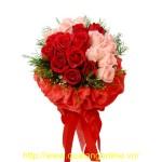 Bó hoa hồng HT028