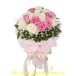 Bó hoa hồng HT029