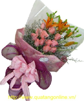 Bó hoa tươi HT032