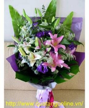 Bó hoa tươi HT043