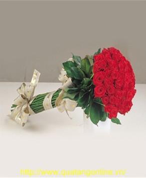 Bó hoa hồng đỏ HT057