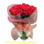 Bó hoa hồng đỏ HT074