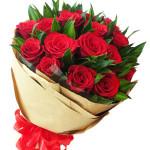 Bó hoa hồng đỏ HT156
