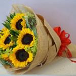 Bó hoa hướng dương gọi nắng HT157