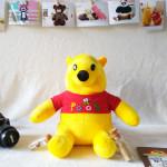 Gấu Pooh nhồi bông TBGP2  cỡ vừa