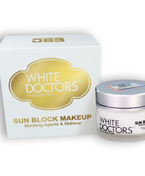 Kem chống nắng trắng da mặt White Doctors - Sunblock Makeup