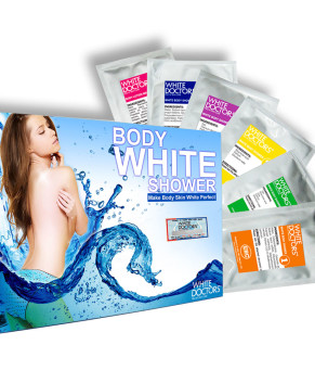 Kem tắm trắng siêu trắng da White Doctors 6 trong 1 - Body White Shower