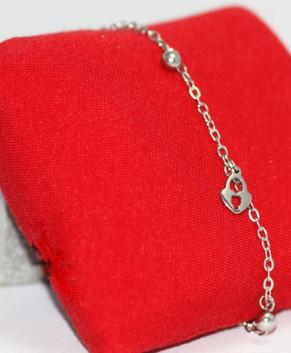 Lắc đeo tay hợp kim nữ Jewel Song TS103