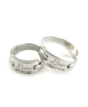 Nhẫn bạc cặp đôi