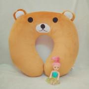 Gối quàng cổ gấu Brown TBGQCB