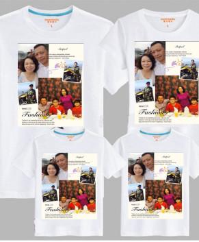 In hình lên áo gia đình QA051